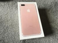 Apple iphone 7 plus 32gb only box empty box Used good condition £8