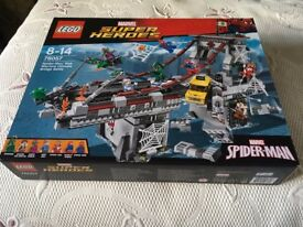 LEGO 76057 Spider-Man Web Warriors Ultimate Bridge Construction Set (New) Collect Only