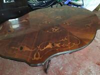 Retro Mahogany Dining Table