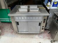 COMMERCIAL CATERING BAIN MARIE UNDER HOT CUPBOARD