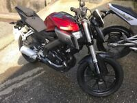Low mileage Yamaha MT-125 Excellent Condition
