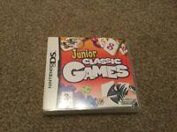 JUNIOR CLASSIC GAMES NINTENDO DS GAME