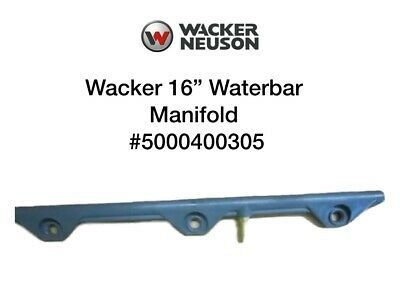 Wacker Oem 16 Compactor Spray Bar Or Waterbar For Wp1550 Wp1550aw 5000400305
