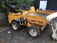 Skip loading dumper, barford hdx750. Thwaites