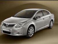 Toyota avensis t4 d4d diesel 2009 new model one owner 60000 fsh long mot full leather great mpg