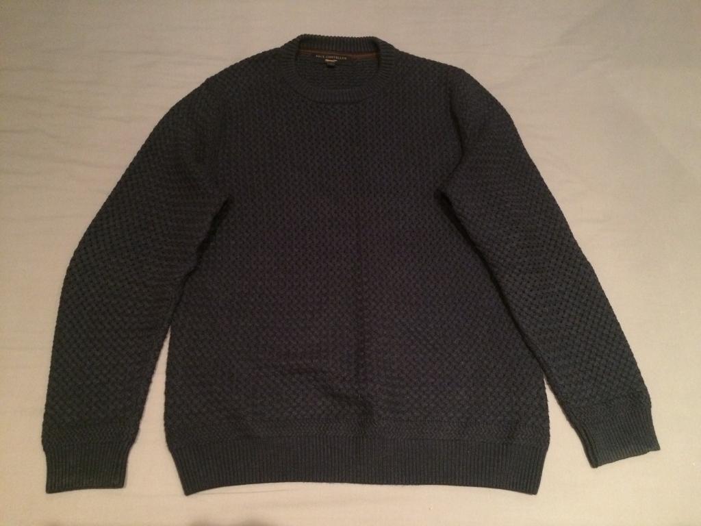 Navy Blue Knitwear Jumper