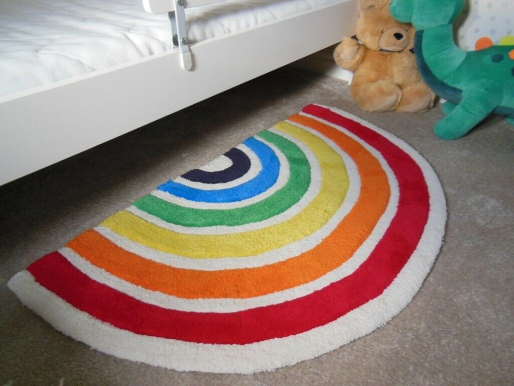 Jools Oliver Mothercare Rainbow Rug