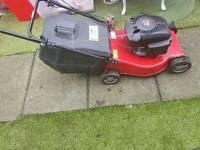 Champion push petrol lawnmower