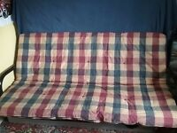 Double bed futon / 4 seater sofa for sale