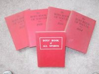 Vintage football books