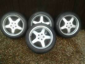 AMG style alloy wheels