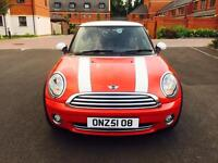 MINI COOPER WITH PRIVATE NUMBER PLATE
