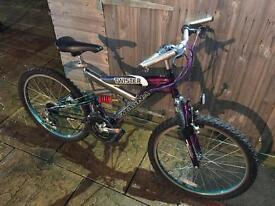 Megna Twister Full Suspension Bike. Serviced. Free Lights