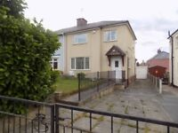 A lovely spaciuos 3 bed semi detached property situated in Harthill