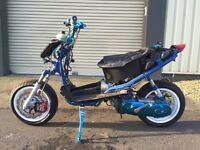Yamaha Aerox EVO-ROX 70cc Race/Road Scooter (£6,000 Build Project) ONE-OFF!!