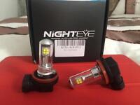 NightEye H11 LED lights for car (Brand New)
