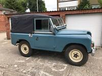 1971 LAND ROVER SERIES 2a TAX EXEMPT SWAP