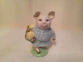 Royal Albert little pig Robinson ornament