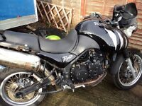 two triumph tigers spares or repairs one 04 with16000 miles all there one2001 bits missing