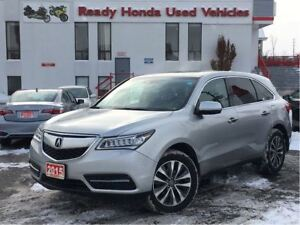 2015 Acura MDX Navigation Pkg - Leather- Roof- New tires