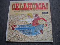 "Oklahoma 12"" vinyl LP record by Rodgers & Hammerstein"
