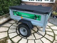 Erde Daxara 127 trailer with cover