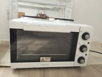 Cookworks Mini Oven with Hob - White +++ Very good condition +++