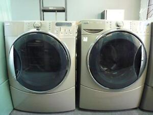 81- KENMORE HE5T STEAM Laveuse Sécheuse Frontales Frontload Washer Dryer