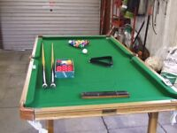 Riley Snooker and Pool table