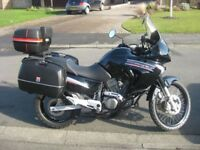 Honda Transalp XL 650 Motorbike