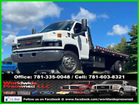 2007 GMC C5500 Kodiak Roll Back Ramp Truck Tow Bar 6.6L Duramax Diesel 21ft Deck