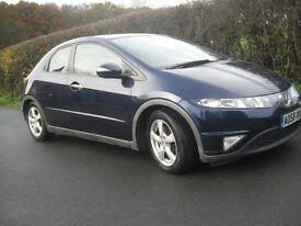 Honda Civic ES diesel, 5 door hatchback manual, low mileage, one owner from new