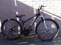Apollo front suspension mountain bike