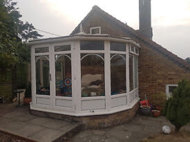 Conservatory for sale 3.9m x 3.1m Anglian made, window features, good condition