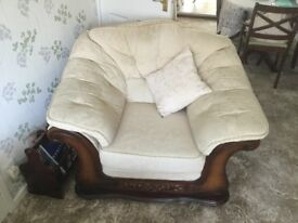 3 Seater Couch and Arm Chair