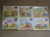 Disney Pooh & Friends Books x 6
