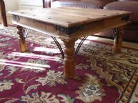 SHEESHAM,JALI INDIAN HARDWOOD COFFEE TABLE,FREE DELIVERY CENTRAL GLASGOW