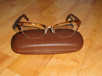 Genuine L.A. Eyeworks Eyeglasses Glasses Frame Douglas 945442 Amber Tortoise