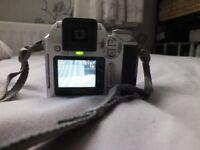 Fuji Finepix S304 digital camera new batteries seven XD cards inc 1gb in camera