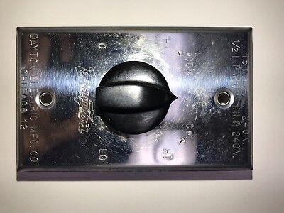 Dayton 2x703 2 Speed Reversing Switch