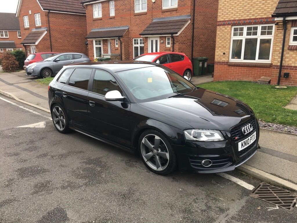 2010 audi s3 8p quattro black sportback r tech miltek facelift reduced in enderby. Black Bedroom Furniture Sets. Home Design Ideas