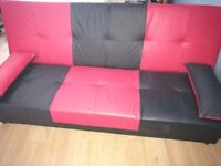 Sofa bed for sale good condition with storage box