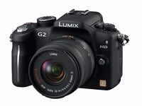 LUMIX DMC G2 DSLR CAMERA (MINT CONDITION) EVERYTHING INCLUDED