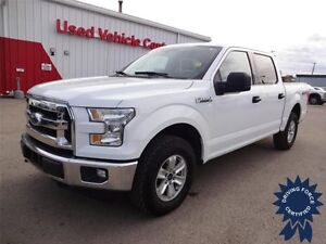 2016 Ford F-150 XLT Super Crew 4x4 - 67,417 KMs, 6 Passenger