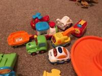Toot Toot track and cars.