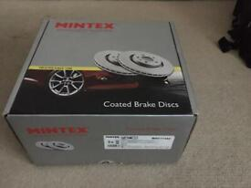 Bmw coated brake discs mintex mdc1745