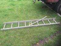 9 Rung 7.5ft Short Ladder