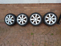 BMW E90/92 fit Autec 17 inch Winter Alloys and Tyres