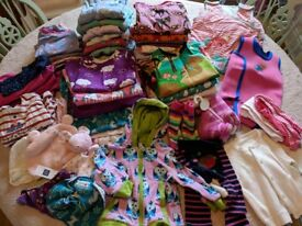 Baby Clothes Bundle 6-12 months - Maxomorra, Piccalilly, etc