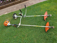 STIHL PETROL STRIMMERS / BRUSH CUTTERS X2 SPARES OR REPAIR